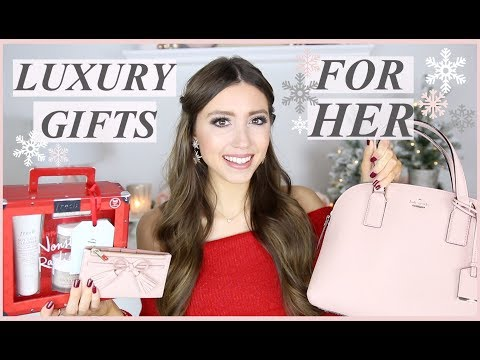 LUXURY CHRISTMAS GIFTS FOR HER ( $50 + UP) HOLIDAY GIFT GUIDE 2018 | + GIVEAWAY!!