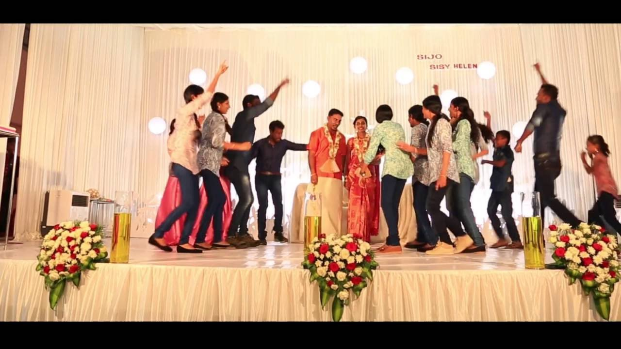 Cousins Funny Dance Performance On Wedding At Thrissur Kerala
