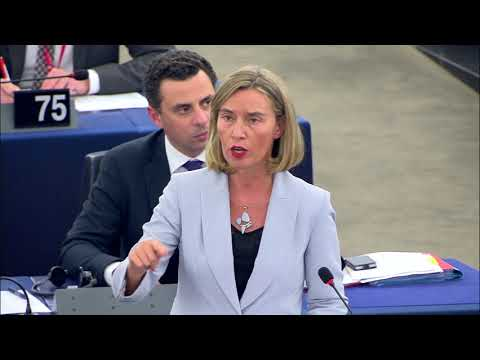 Mogherini's speech on the situation in North Korea at the EP Plenary session
