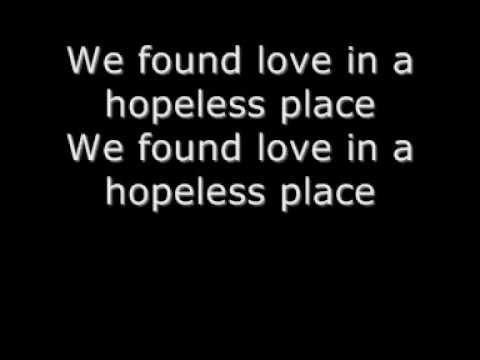 Rihanna - We Found Love (Lyrics)