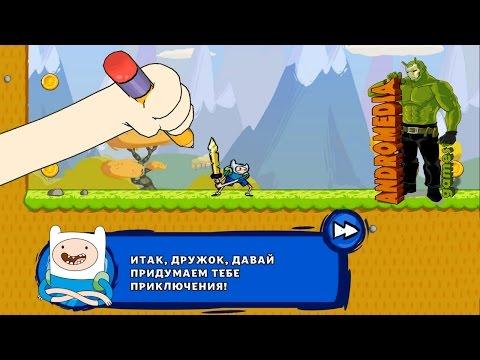 Adventure TIME Магистр Игр - великолепная аркада-платформер от Cartoon Network