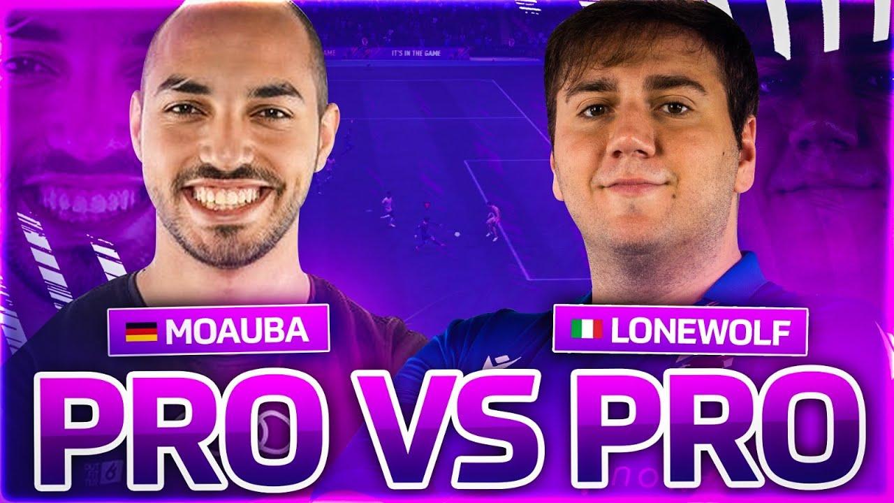 PRO VS PRO - Lonewolf92 vs MoAuba - sfido il campione del mondo in carica di FIFA
