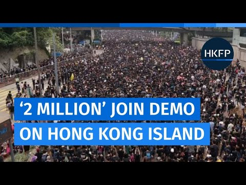 Lion Rock Spirit: Hong Kong's '2 million-strong' anti-extradition law protest