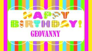 Geovannyitaliano Geovanny italian pronunciation   Wishes & Mensajes - Happy Birthday