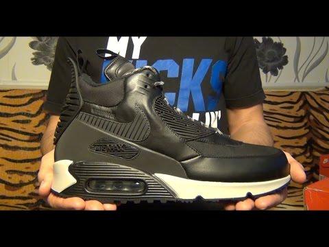 Видеообзор Nike Air Max 90 Sneakerboot WNTR от Свистова Арсения