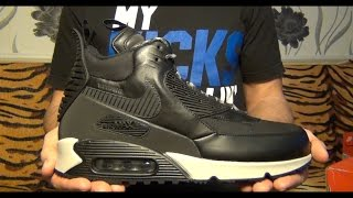 Видеообзор Nike Air Max 90 Sneakerboot WNTR от Свистова Арсения