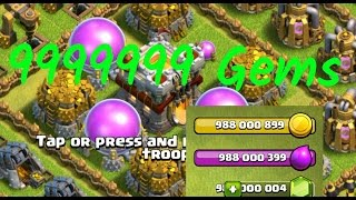 Clash Of Clans Gems hack 9999999 Proof Video MUST WATCH