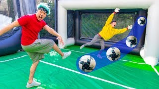 SOCCER PENALTY KICK CHALLENGE!