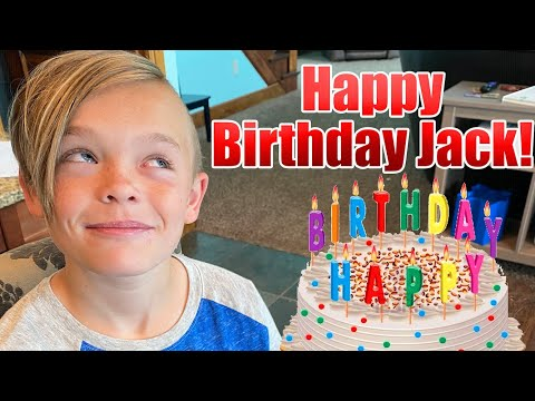 Jack's Birthday Party Challenges! (Fun Squad)