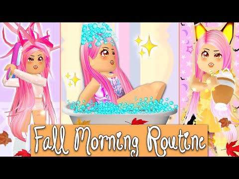 My Fall Morning Routine In The Brand New Royale High Fall Update! Roblox Royale High Fall Update