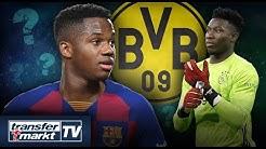 Ansu Fati als Sancho-Ersatz zum BVB? – Onana heiß begehrt! | TRANSFERMARKT