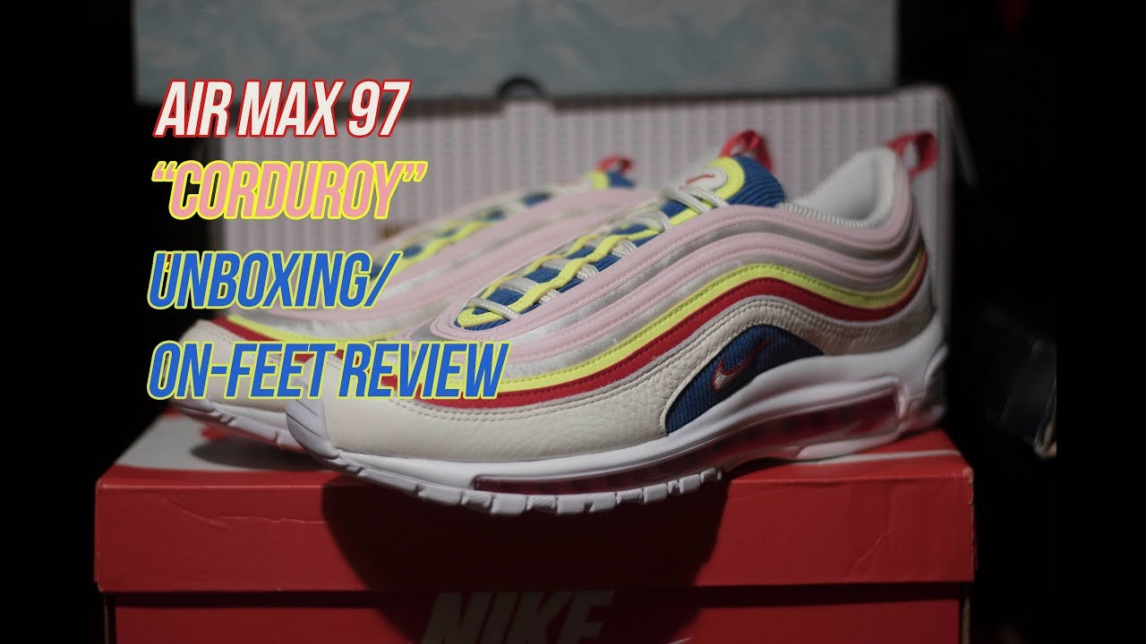 Nike Air Max 97 Black Hyper Crimson CD1531 001 Release
