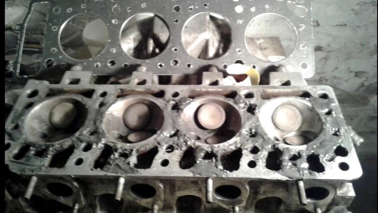 Ремонт раковин ГБЦ Москвич 2141 с двигателем 331.10 1.5литров1991года выпуска Великий