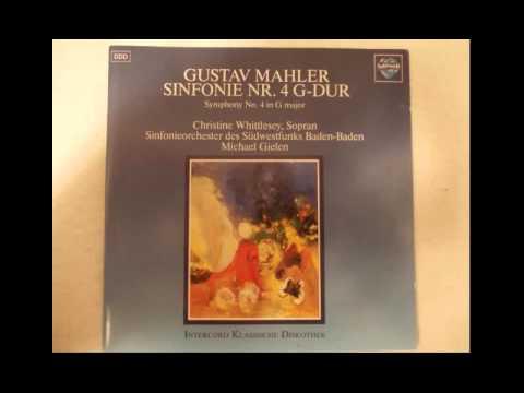 2/4 Mahler - Symphony No. 4 - Southwest Radio S O - Michael Gielen 432 Hz