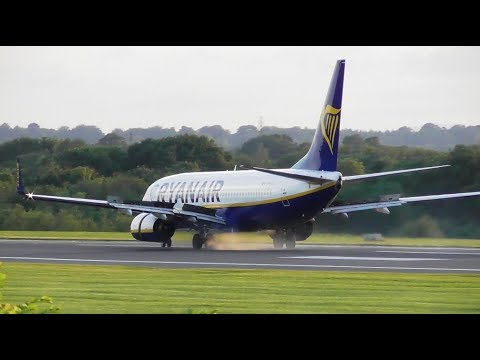Ryanair Boeing 737 Rejected Take off at speed - Manchester Airport, 24-07-19