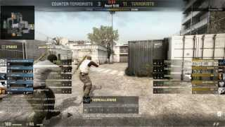 CS:GO Thewarowl VS a hacker!