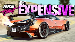 Need for Speed HEAT - Most EXPENSIVE Supercar... Is it Good?? (Pagani Huayra BC Customization)