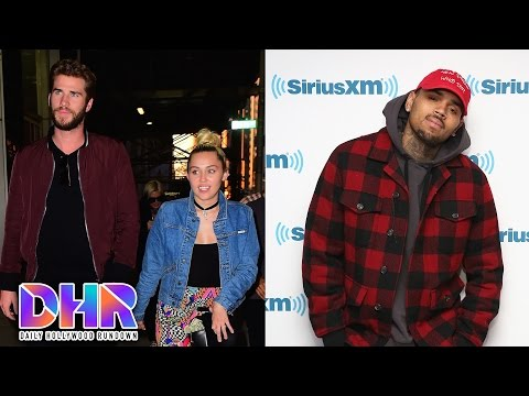 Liam Hemsworth DEFENDS Miley Engagement - Chris Brown Beats Up Manager (DHR)