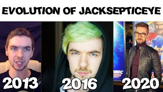 The Evolution Of Jacksepticeye 2020 - Meme Time