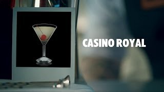 CASINO ROYAL DRINK RECIPE - HOW TO MIX