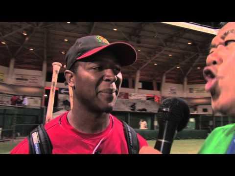 06/15/13 Jeremy Williams Interview Home Run - Na Koa Ikaika Maui vs. Hawaii Stars Hilo