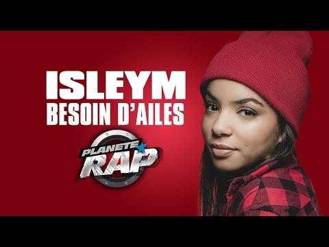 "Isleym ""Besoin d'ailes"" en live #PlanèteRap"