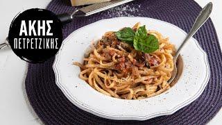 Σπαγγέτι με σάλτσα ντομάτας(napolitana) | Kitchen Lab by Akis Petretzikis