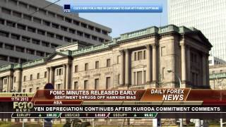 Daily Forex News April 11th 2013