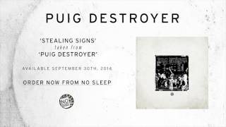Puig Destroyer- Stealing Signs