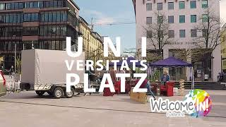 Welcome In! Studio - Infostand am 14.04.2018 FD