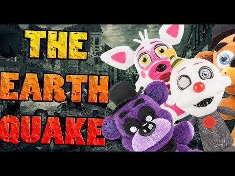 FNAF Plush - EarthQuake! - YouTube