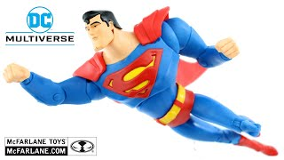 DC Multiverse SUPERMAN THE ANIMATED SERIES - McFarlane Toys Action Figure Review / Toys e Travels