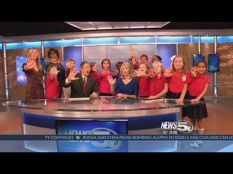 JagTime News Team from O'Rourke Elementary