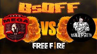 [🔴 LIVE] FREE FIRE ~ CAMPEONATO BsOFF🔥MEGA SPORTS VS. BOINA PRETA🔥INSANIDADE TOTAL