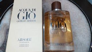 Acqua Di Gio Absolu Giorgio Armani for Men Intro (2018)