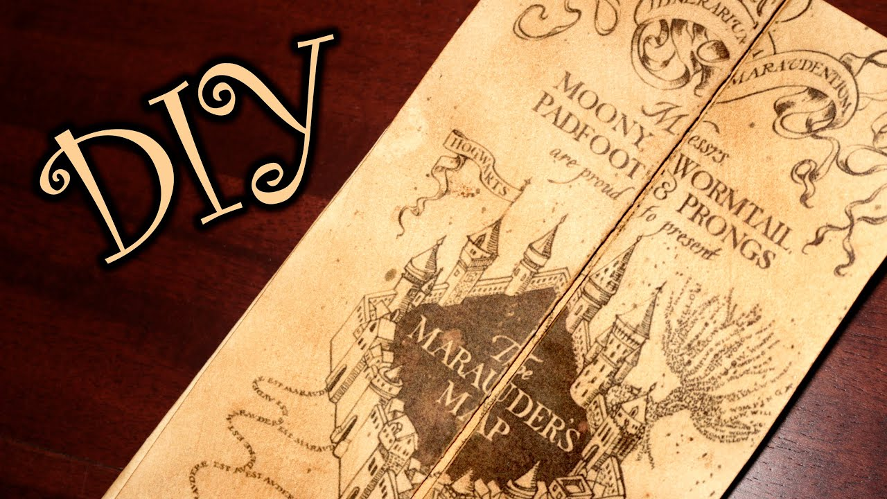 Insane image with regard to marauders map printable