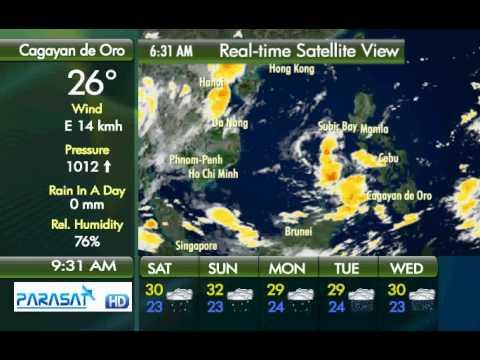 Parasat Weather Update Cagayan de Oro City: September 8, 2012