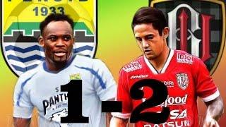 persib vs bali united 2-1