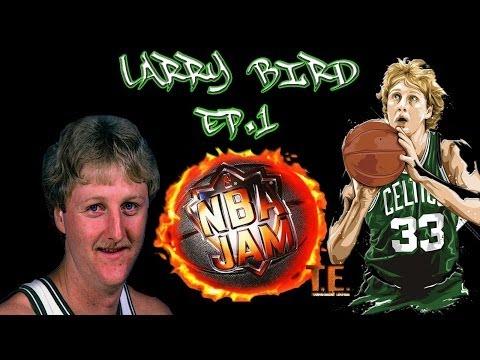 NBA JAM T.E. (PS1) - HD   The Larry Bird Experience   Ep.1