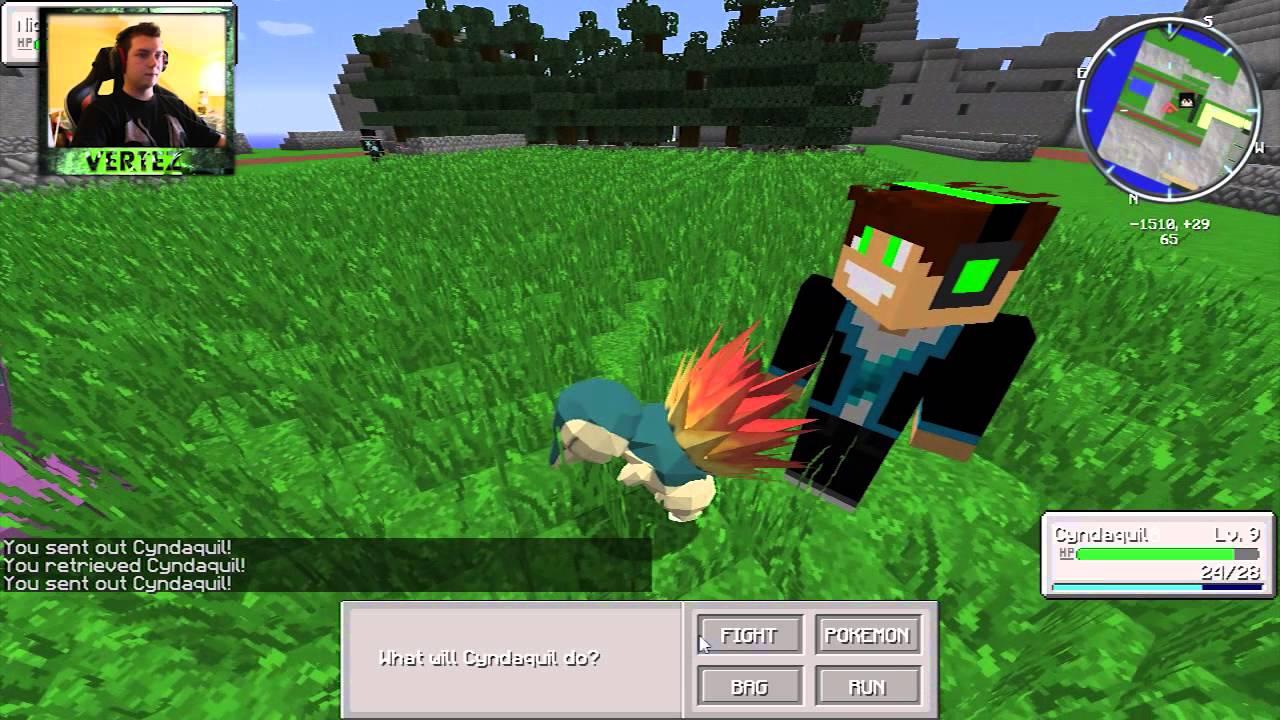 Minecraft Pokemon 1 Vertez Hunterbright Youtube