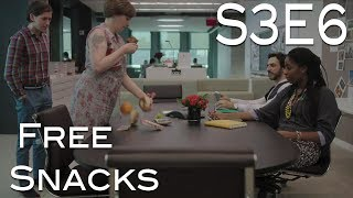 "Girls Season 3 Episode 6 ""Free Snacks"" - Review"