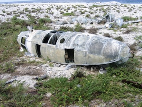 Tropical Island, A Plane Wreck And Amelia Earhart Was Never Seen Again