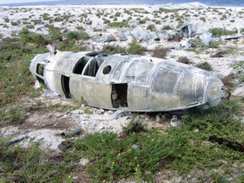 Tropical Island, A Plane Wreck And Amelia Earhart Was Never Seen Again