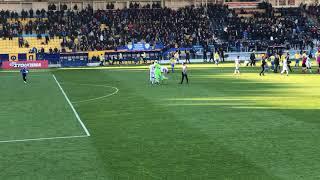 Παναιτωλικός ΠΑΟΚ 0-1 λήξη αγώνα και μικρή ένταση