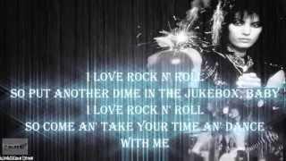 Joan Jett & the Blackhearts - I Love Rock N Roll - Lyric