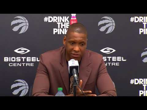 Raptors Press Conference: Masai Ujiri - July 18, 2017