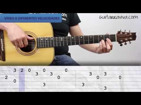 Como tocar lau teilatu itoiz guitarra facil tutorial for Tu jardin con enanitos acordes
