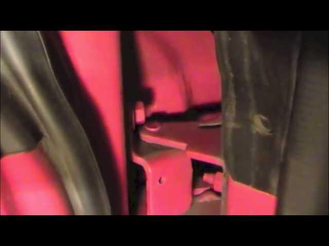 Door Hinge Pin Bushing Repair Ford Mustang 94 04 Youtube