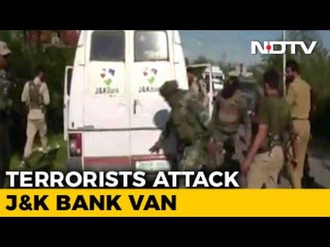 Terrorists Target Bank Vehicle In Kashmir, Kill 2 Employees, 4 Cops