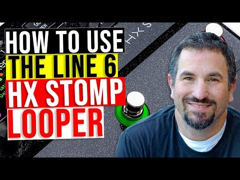 How To Use The Line 6 HX Stomp Looper (Without HX Edit)